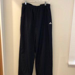 Adidas men's jogging pants size large.